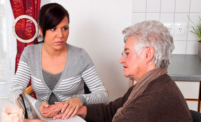 The Bereavement counselor helps the family work through the grief associated with the patients declining health and eventual death. The counselor can provide services for up to a year (as needed) after your loved one passes away.